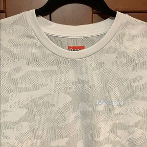 Moisture wicking grey camo Karbon shirt